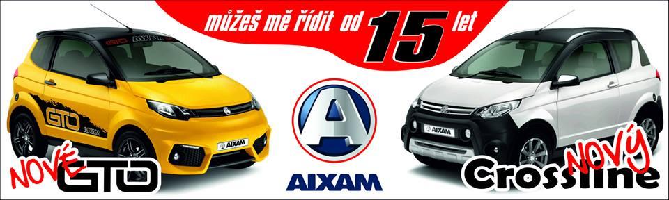 Nové modely vozidel Aixam