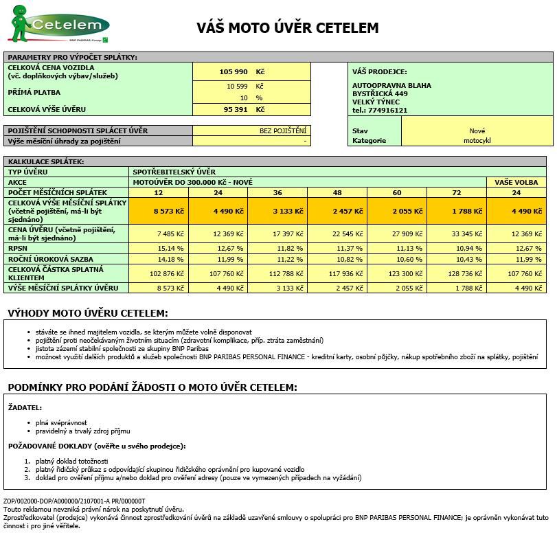 Vespa Primavera 125 ABS výhodně na splátky Cetelem