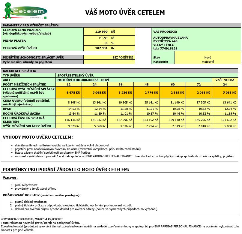 Vespa Sprint 50 2T Sport výhodně na splátky Cetelem