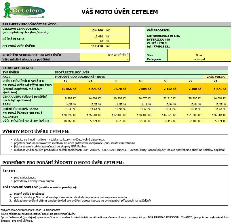 Peugeot Satelis 2 RS 125 výhodně na splátky Cetelem