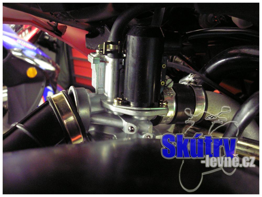 Zapojení karburátoru